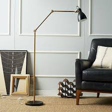 splendid room decoration ideas use gold silver touch for luxury amazing brass floor lamp