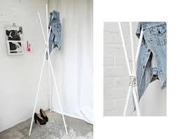How To Build A Standing Coat Rack Love Aesthetics Tripod Coat Rack 80