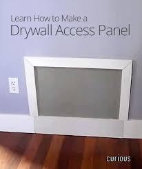 access panel diy plumbing access panels