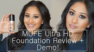 makeup forever ultra hd foundation review demo makeup by megha you
