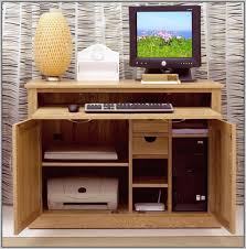hidden desk furniture. Small Hidden Computer Desk With Amazing Hideaway Ideas For Furniture L