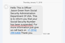 Social Number About Week Of Your Bogus Text Scam Security The