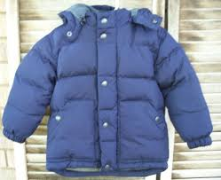 details about baby gap warmest winter coat size 2t 2 years down filled fleece lined hood