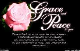 Image result for grace and peace