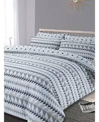 grey double duvet cover rewind geometric double duvet cover and pillowcase set grey argos grey double