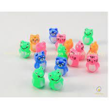 Lật đật mini hình gấu đáng yêu đồ chơi trẻ em cho bé trai bé gái 6 8 10 12  tháng tuổi 1 2 3 4 5 6 tháng tuổi baby egg giá cạnh tranh