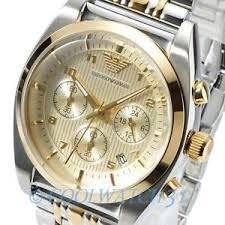 new emporio armani ar0396 mens watch classic chronograph silver image is loading new emporio armani ar0396 mens watch classic chronograph