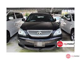2003 Toyota Harrier for sale in Malaysia for RM62,800 | MyMotor