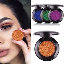 image is loading 2018 pro makeup glitter eye shadow pigment silver