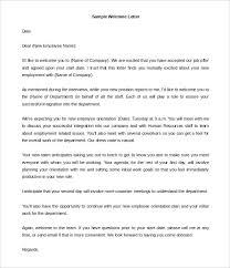 24 Hr Welcome Letter Templates Doc Pdf Free Premium