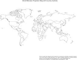 printable blank world outline maps • royalty free • globe earth