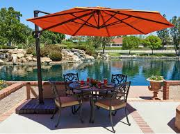 best outdoor table umbrella