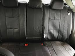 the empire leather look seat covers will provide anthony with maximum protection they are an extremely popular material due to being really easy to clean