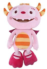 1 x henry hugglemonster talking summer 25cm soft toy by golden bear