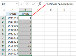 Rank Functions Excel How To Generate Random Numbers In Excel A Step By Step Guide