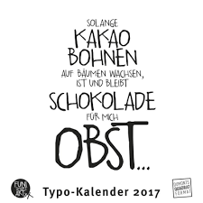 Funi Sprüche Und Typo Kalender 2017 Von Funi Kalender Buch24de