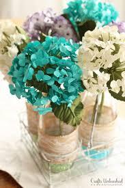 Paper Flower Centerpieces At Wedding Diy Centerpieces Spring Floral Vases Crafts Unleashed