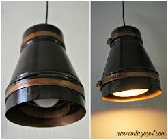 industrial pendant lighting. DIY Industrial Pendant Light With LED Power! On Diane\u0027s Vintage Zest! #LEDSavings # Lighting N