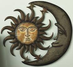 mexican metal sun wall art