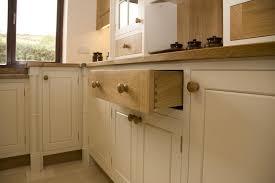 Oak Kitchen Painted Oak Kitchen Llanrhystud Mark Stones Welsh Kitchens