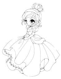 Chibi Coloring Page A2861 Anime Coloring Pages For Girls Coloring