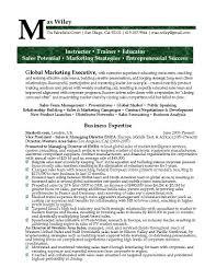 examples of marketing resumes marketing executive resume chief examples of marketing resumes