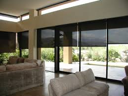 motorized roller shades. Motorized Sun Screen Roller Shades Global Home Automation