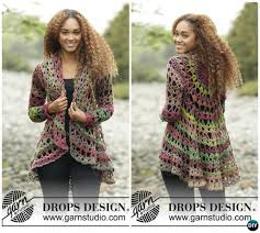Crochet Circular Vest Pattern Free Magnificent DIY Crochet Circular Vest Sweater Jacket Free Patterns