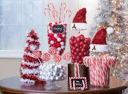 Candy Cane Christmas Treats and Decor Ideas