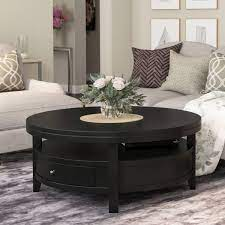 Show us your articles using #ourarticle and make sure you tag us @article. Toledo Solid Wood Black Modern Round Coffee Table