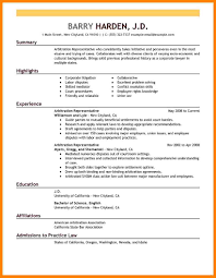 Resume Successful Examples Astounding Good Format Ofumes Letter