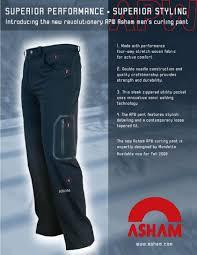 Supreme Pants Size Chart Mens Curling Pants From Asham Asham