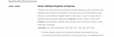 Modern Engineer Resume Software Engineer Resume Writing Guide 12 Samples Pdf