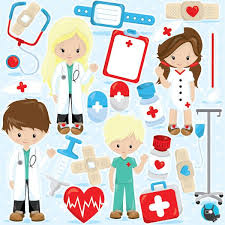 doctor clipart for kids. Contemporary Doctor Doctor Clipart Commercial Use Hospital Vector Graphics Kids  Hospital Digital Clip Art Images  CL965 By Prettygrafikdesign On Etsy In Clipart For Kids I
