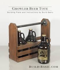 Starting woodworking doesn't have to cost you an arm and a leg, and it really isn't as daunting as you'd think. Build A Growler Beer Tote Build Basic