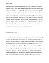 essay about bluetooth technology essay about bluetooth technology
