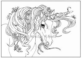 Unicorn And Fairy Coloring Pages Printable Coloring Page For Kids