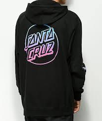 Odd Future Clothing Size Chart Odd Future X Santa Cruz Fade Black Hoodie