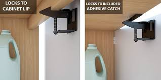 Baby Proof The Kitchen W An 8 Pack Of Cabinet Safety Latches For