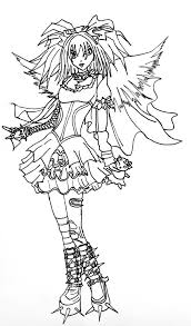 Dark Angel Coloring Pages Wumingme