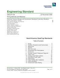 Saudi Aramco Engineering Standard