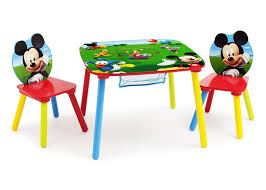 chair with storage. delta children mickey mouse table and chair with storage right side view a1a