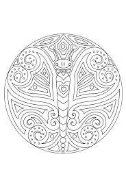 Mandala Kleurplaten Afdrukken Kleurplaat Mandala Dieren Animaatjes