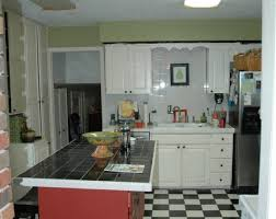 green painted kitchen cabinets. Kitchen Before Green Painted Cabinets T