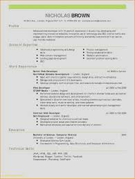 Web Developer Resume Examples Inspirational Android Developer Resume
