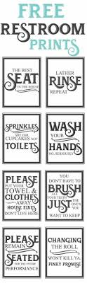 Free Printable Bathroom Art