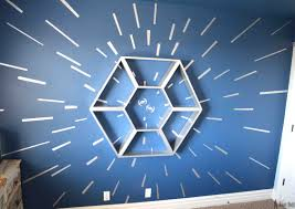 star wars bedroom furniture. an awesome star wars bedroom with a hyperspace focal wall and fighter cockpit shelf furniture