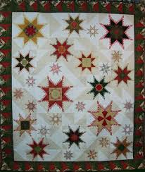 27 best Hoopsisters images on Pinterest | Embroidered quilts ... & FEATHERED STAR CYBER QUILT SHOW Adamdwight.com