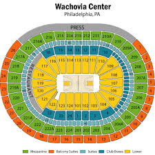 Wells Fargo Philadelphia Seating Chart Wells Fargo Center Seating Chart Views Reviews