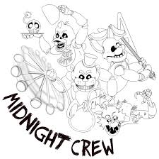 Fnaf Coloring Pages Mangle And Foxy